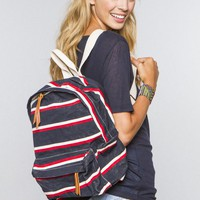 John Galt Stripe Backpack