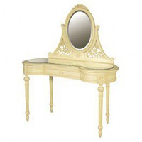 Valbonne French Painted Glazed Dressing Table