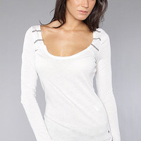 The Brewster Top in White by Hurley | Karmaloop.com - Global Concrete Culture