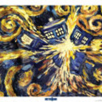 BBC America Shop - Doctor Who: Starry Night TARDIS Print