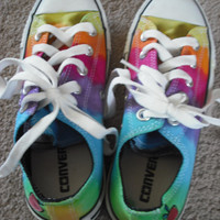 Tie dye Converse All Stars-upcycled