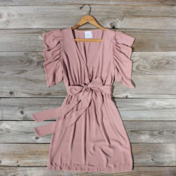 August Glow Dress in Peach