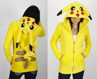 pokemon fleece hoodie coat