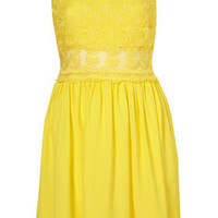Lace Strappy Sun Dress - Dresses  - Apparel