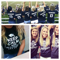 Class of 2013 T-Shirt - Keep Calm and Graduate