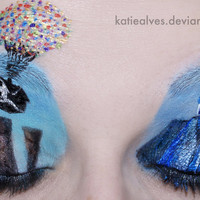 Up Eyes by =KatieAlves on deviantART