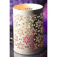 cream candle lantern