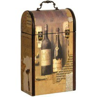double wine box carrier