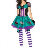 Leg Avenue 2PC Teacup Mad Hatter Costume
