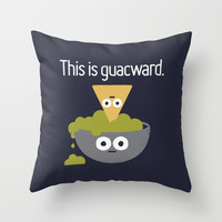 Abandoned Chip Throw Pillow by David Olenick