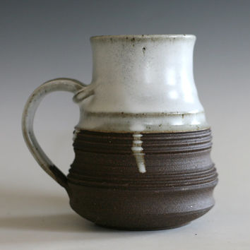 Coffee Mug, 17 oz, handmade ceramic cup, tea cup, coffee cup, handthrown ceramic stoneware pottery mug, unique coffee mug