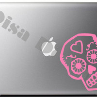 Day of The Dead / Sugar Skull vinyl decal - Car decal - MacBook decal - Sugar Skull decal