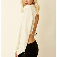 Mara Hoffman - Triangle Back Button Down