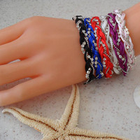 Bracelets - Summer Style - For Beach - Choose only one - 6 different colors