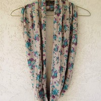 Floral Infinity Scarf from Love What&#x27;s Missing