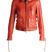 Leather jackets Women LASKY - Jackets Women on Diesel Online Store