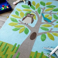 DwellStudio |  Nursery Decor - Owl Rug