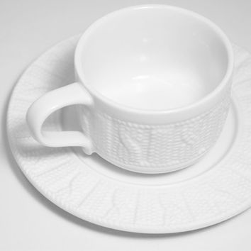 Sweater Cup and Saucer - Default