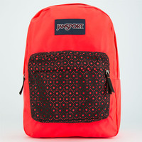 Jansport High Stakes Backpack Red Combo One Size For Women 24759434901