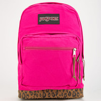 Jansport Right Pack Backpack Pink/Leopard One Size For Women 24760843501