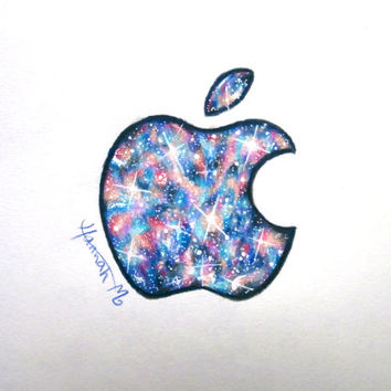 Galaxy Apple Pencil Drawing