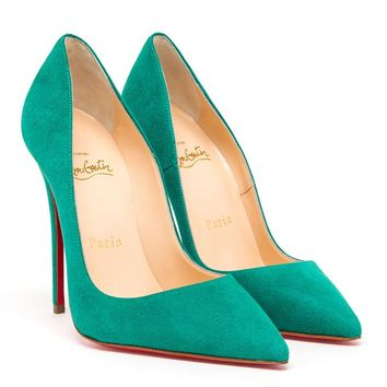 So Kate Suede Pumps - CHRISTIAN LOUBOUTIN