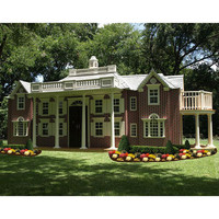 Custom Home Replica Playhouse : Luxury Playhouses at PoshTots