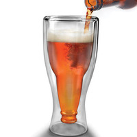 Hopside Down Beer Glass - Cool Material