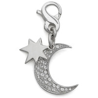 Carolee Half-Moon Charm, Sterling Silver