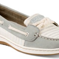 Sperry Top-Sider Cherubfish Mariner Stripe Slip-On Boat Shoe Charcoal, Size 8.5M  Women's Shoes