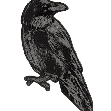 Nevermore Raven Brooch Pin