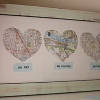 My Style / So cool: we met, we married, we live love map.