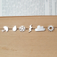 Sterling Silver Weather Forecast Ea.. on Luulla