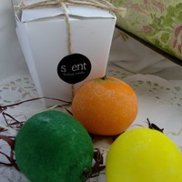 Tangerine, Lemon & Lime set £12.25
