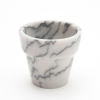 marble pots / two sizes