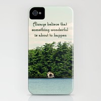 Something Wonderful iPhone Case by Around the Island (Robin Epstein) | Society6