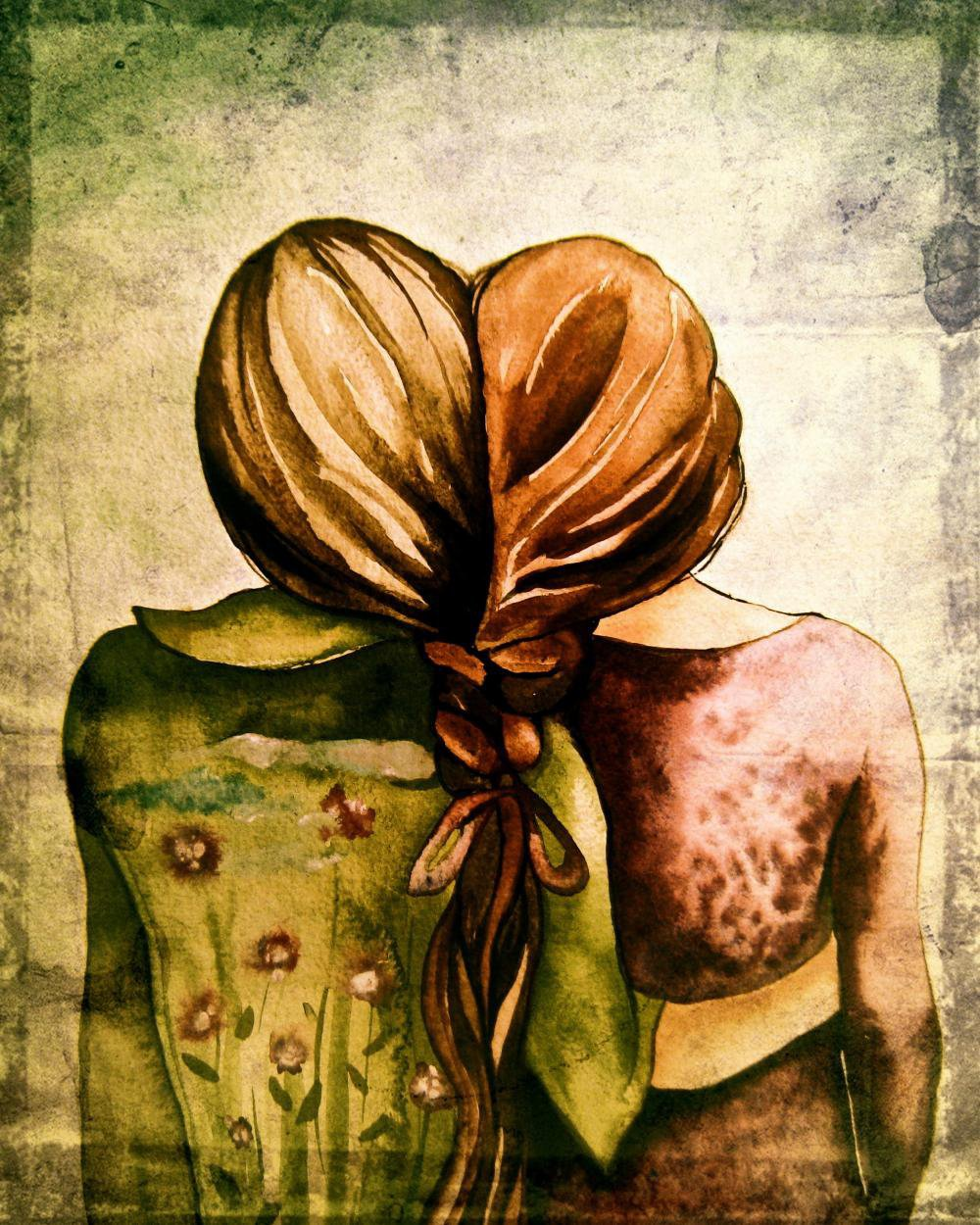 The Sisters Art Print  on Luulla