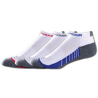 Under Armour Beyond III No Show Socks 3-Pack Activewear Hosiery U200 at BareNecessities.com