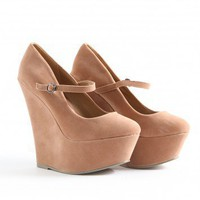 Missguided - Yasmina Mary Jane Wedges