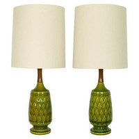 The Ellington Twins - Restyled Vintage Table Lamps — Mod Pieces