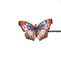 butterfly bobby pin - the Stevie Nicks of my hairpin collection