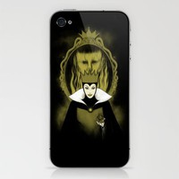 Evil Queen iPhone & iPod Skin by pigboom el crapo | Society6