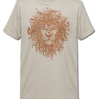 NEW! Tribal Lion Men's Organic T-Shirt: Soul-Flower Online Store