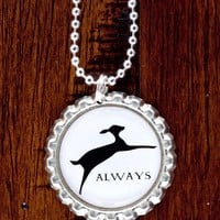 Always Bottlecap Necklace by evietees on Etsy
