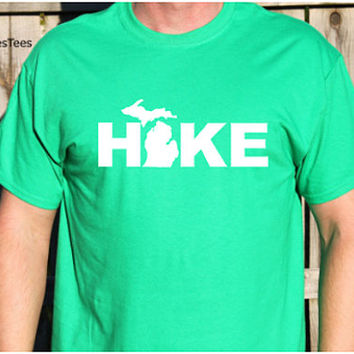 Hike Michigan Shirt, Hiking Michigan Shirt, Hiking Shirt