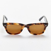 Ray-Ban Tortoise Havana Wayfarer Sunglasses- Brown One