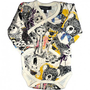 Toy Mania Long Sleeve Bodysuit $30