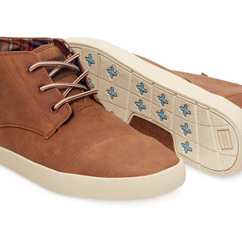 Brown Synthetic Leather Men's Paseo-Mids