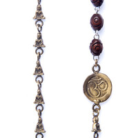 Tiny Buddha Chain with Om & Rosary