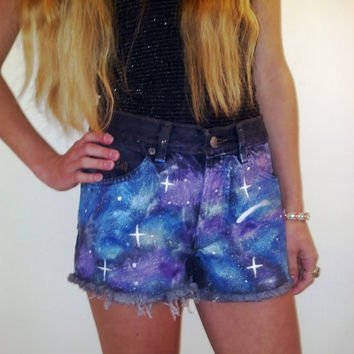 Front/Back Galaxy Shorts MADE TO ORDER